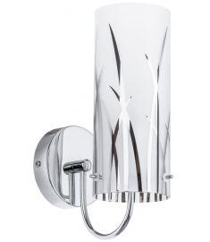 Italux KOSMA fali lámpa, E14, 1x40W, króm/fehér