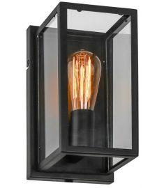Italux LAVERNO fali lámpa, E27, 1x60W, fekete