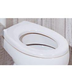 Jika BABY gyerek WC ülőke fedél nélkül, duroplaszt, antibakteriális, fehér H8970373000001