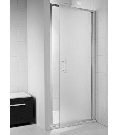 Jika CUBITO egy részes zuhanyajtó, 100x195 cm, ezüst profil, átlátszó üveg H2542430026681