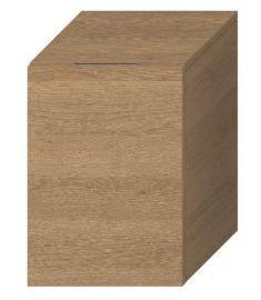 Jika CUBITO kis fürdőszoba szekrény, jobb oldali zsanér, tölgy H43J4201205191