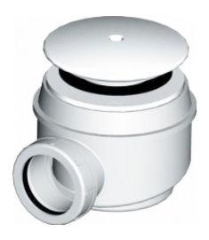 DEEP BY JIKA zuhanytálca szifon 50/40 mm, rozsdamentes fedél H2948240000001