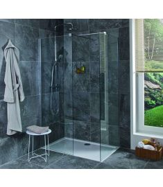 Jika PURE Walk In zuhanykabin, sarok változat, 70x80 cm H2684230026681