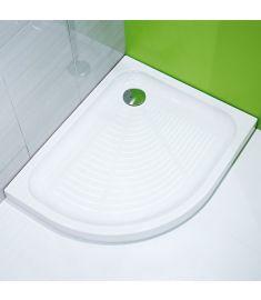 Jika TIGO kerámia zuhanytálca, 100x80 cm, aszimmetrikus, jobbos, Antislip, csúszásgátolt H8522116000001