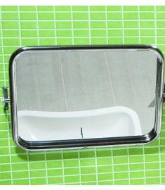 Jika UNIVERSUM fürdőszoba tükör, 60x45 cm, állítható, rozsdamentes acél H3897190030001