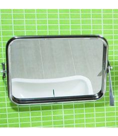 Jika UNIVERSUM fürdőszoba tükör, 60x45 cm, állítható, rozsdamentes acél, fogantyúval H3897170030001