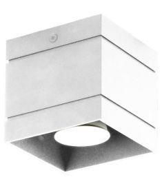 Lampex QUADO mennyezeti lámpa, 10x10cm, GU10, 1x40W, fehér, 691/1 BIA