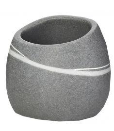 Ridder LITTLE ROCK Dark fogmosópohár, kőhatású, szürke 22190107