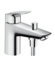 Hansgrohe LOGIS Monotrou egykaros zuhany és kádtöltő csaptelep, króm 71312000