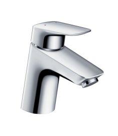 Hansgrohe LOGIS 70 mosdó csaptelep Push-Open lefolyó-garnitúrával króm 71074000