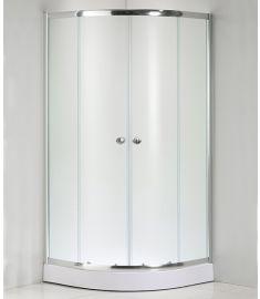 Niagara Wellness LOTUS FROST íves zuhanykabin zuhanytálcával, 80x80x206 cm 399-294