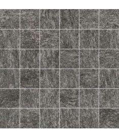 LUSERNA NERO ROC MOSAICO 30x30 kőporcelán padlólap/csempe  7669101 Saime