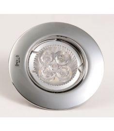 Sapho LUTO állítható, beépíthető lámpa, 50W, 12V, króm 02591