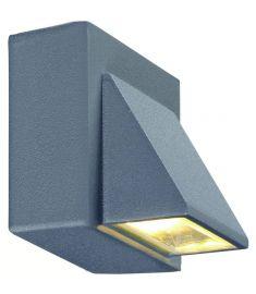 Markslöjd CARINA kültéri fali lámpa, szürke, LED, 1W 102578