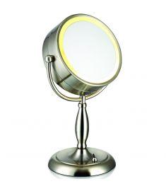 Markslöjd faCE kozmetikai tükör, világítással, fém, E14, 25W 105237