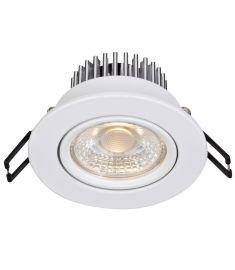 Markslöjd HERA beépíthető LED lámpa, fehér, LED, 3.6W 106212