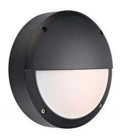 Markslöjd HERO kültéri fali LED lámpa, fekete, LED, 9W 106519