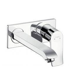 Hansgrohe METRIS egykaros, falba építhető mosdó csaptelep, 225 mm-es kifolyóval 31086000