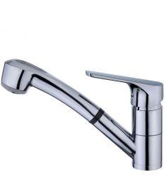 Teka MTP 978 mosogató csaptelep, kihúzható zuhanyfejes, 469780200