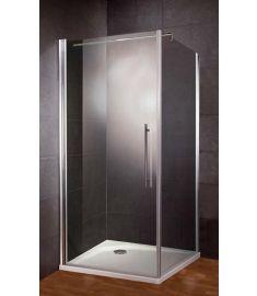 HSK NEW STYLE zuhanyfal, 80x193 cm, stabilizátor rúddal, matt alumínium 1439080.150