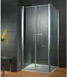 HSK NEW STYLE zuhanyfal, 80x193 cm, stabilizátor rúddal, matt alumínium 1444080.150