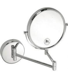 Bemeta OMEGA fara szerelhető kozmetikai tükör, 20 cm, króm 112201512