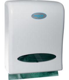 AQUALINE Kéztörlő adagoló, műanyag, fehér, 32x26x11 cm 1319-80