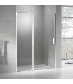 Wellis PURE zuhanyajtó (nyílóajtó + fix zuhanyfal), 100x190 cm 17020516-445