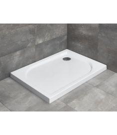 Radaway DELOS D szögletes, akril zuhanytálca, szifonnal, 80x75x5.5 cm 4D87545-03
