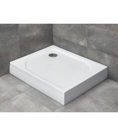 Radaway DELOS D szögletes, akril zuhanytálca, szifonnal, balos, 80x75x14 cm 4D87514-03L