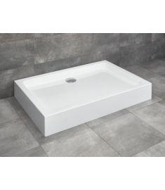 Radaway LAROS D szögletes, akril zuhanytálca, lábakkal szifonnal, 90x80 cm SLD8917-01