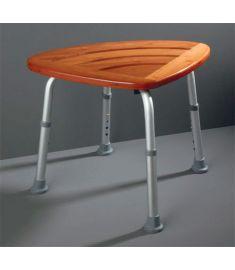 Ridder állítható fürdőszobai ülőke, bambusz A00502081