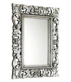 Sapho SAMBLUNG Tükör, 60x80cm, tömörfa kerettel, ezüst antik IN115