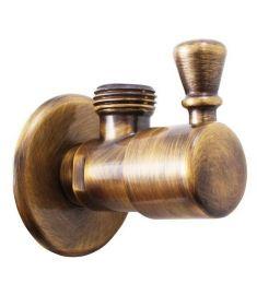 Sapho ANGLE sarokszelep 1/2'x 1/2', bronz roto6