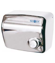 Sapho elektromos kézszárító, kapcsolóval, 1500W, inox 01250.B