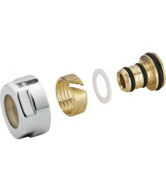 Sapho Szorítógyűrű többrétegű csőhöz 16 mm, króm CP6020