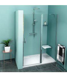 Polysan ZOOM LINE zuhanyajtó, 100x190 cm, 6 mm-es biztonsági transzparent üveg ZL1310