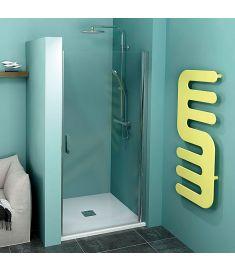 Polysan ZOOM LINE zuhanyajtó, 80x190 cm, 6 mm-es biztonsági transzparent üveg ZL1280