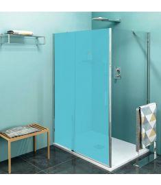 Sapho ZOOM LINE zuhanyfal, 100x190 cm, átlátszó üveg ZL3210