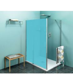 Sapho ZOOM LINE zuhanyfal, 80x190 cm, átlátszó üveg ZL3280
