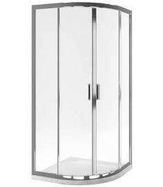 Excellent SERIA 201 íves zuhanykabin, 90x90x190 cm, edzett üveg, átlátszó/króm KAAC.1801.900