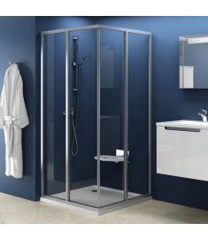 Ravak SUPERNOVA SRV2-75 S zuhanykabin tolóajtó, 75x185, fehér keret/Trasp. edzett üveg 14V30102Z1
