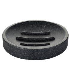 Ridder STONE Black szappantartó, kőhatású, fekete 22010310