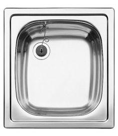 Blanco TOP EE 4X4 rozsdamentes mosogató, 41.7x45.2 cm, natúr, 501065