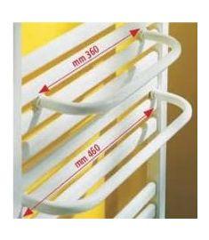 Caleido törölközőtartó, 55-60 cm széles radiátorhoz, fehér 101014