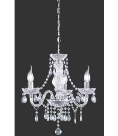 Trio LÜSTER csillár, E14, 3x40W, transparent, akril kristály R11073000