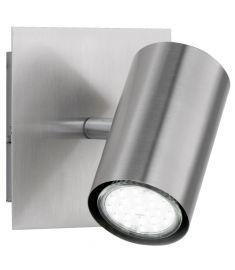 Trio MARLEY spot lámpa, 12x12 cm, GU10, 1x35W, matt nikkel 802400107