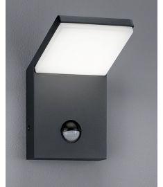 Trio PEARL kültéri fali lámpa, LED, mozgásérzékelős, SMD, 1x9W, antracit 221169142
