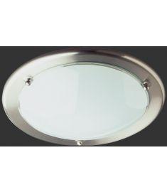 Trio PRIMO mennyezeti lámpa, d30 cm, E27, 1x60W, matt nikkel-fehér 6101011-07