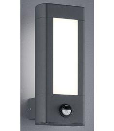 Trio RHINE kültéri fali lámpa, LED, mozgásérzékelős, SMD, 2x4.5W, antracit 221669242